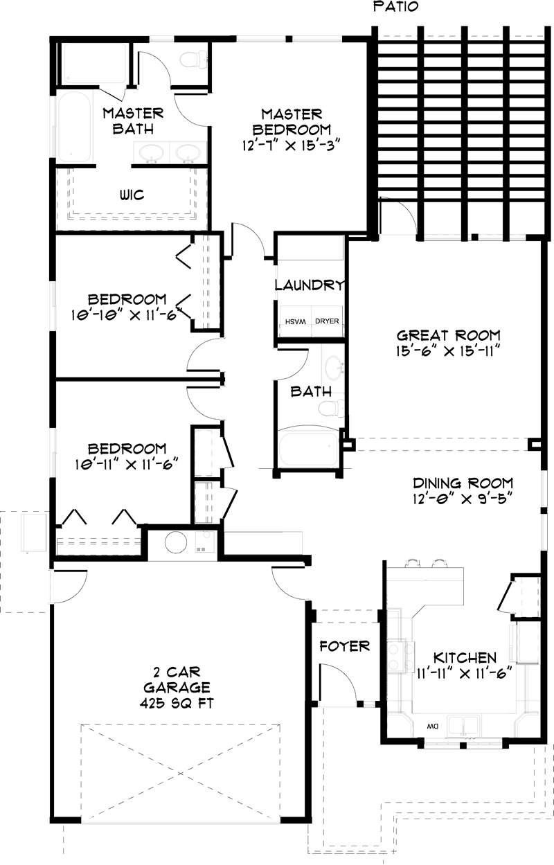 Sassafrass Floorplan